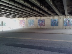 Art under an Underpass, Arlington, VA (via ME!)