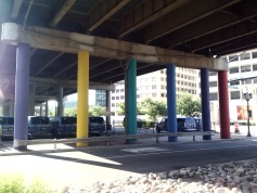 Colored Columns, Arlington, VA (via ME!)