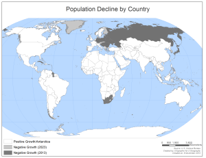 Population Decline (via U.S. Census, ME!)