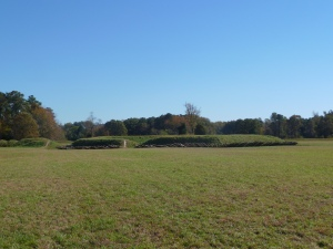 (formerly) British Redoubts (Yorktown, VA via ME!)